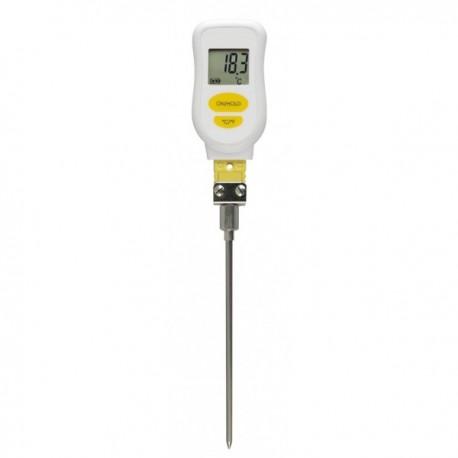 Thermomètre stylo type K sonde droite