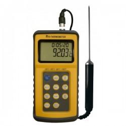 Thermomètre sonde PT100 amovible