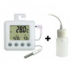 Thermomètre intérieur/extérieur + ralentisseur thermique