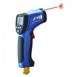 Thermomètre infrarouge à visée laser + type K