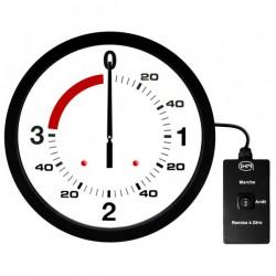 Pendule de boxe anglaise 3mn + 1mn - Ø 600mm