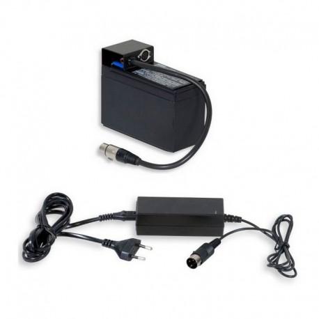 Batterie 12V + chargeur pour afficheur 160FE