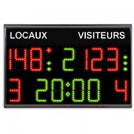 Afficheur multisports chronomètre / scoreur - Pupitre sans fil