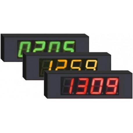 Compteur / Afficheur de passage entrées / sorties séparées - 4 chiffres 10cm