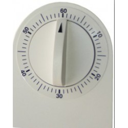 Minuteur mécanique/ Décompte 0 à 60 mn