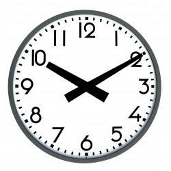 Horloge étanche IP54