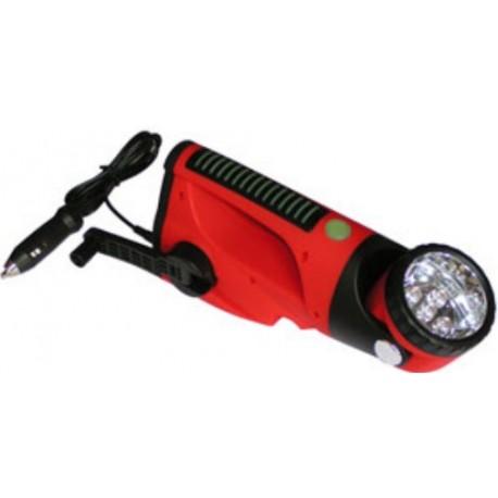 Lampe- torche dynamo- voiture