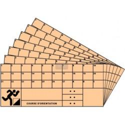 Cartons de contrôle/ NORMES IOF