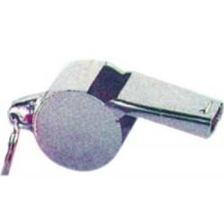 Sifflet en métal chromé