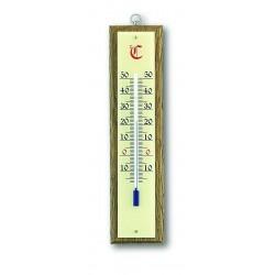Thermomètre classique Bois et laiton