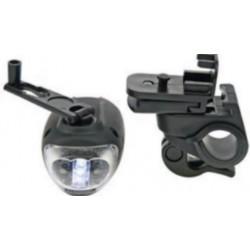 Lampe- torche dynamo pour vélo