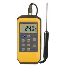 Thermomètre étanche à sonde amovible 10 mémoires
