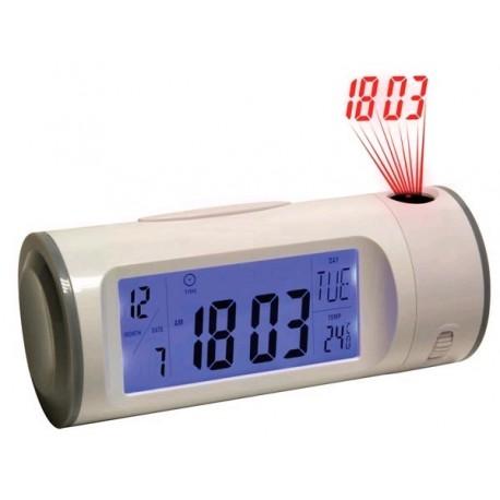 Réveil projecteur / double alarme