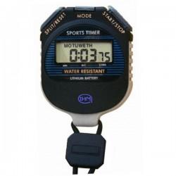 Chronomètre 2 temps noir