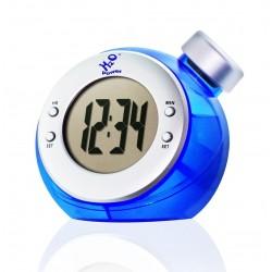 Horloge à eau globe digital
