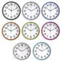 Horloge silencieuse - 30 cm - Coloris au choix