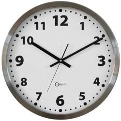 Horloge inox - Diamètre 45 cm