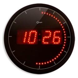 Horloge LED - Diamètre 30 cm