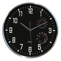 horloge thermo-hygro 30 cm - silencieuse