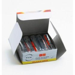 Boîte 10 piles alcalines LR03/AAA 1.5V