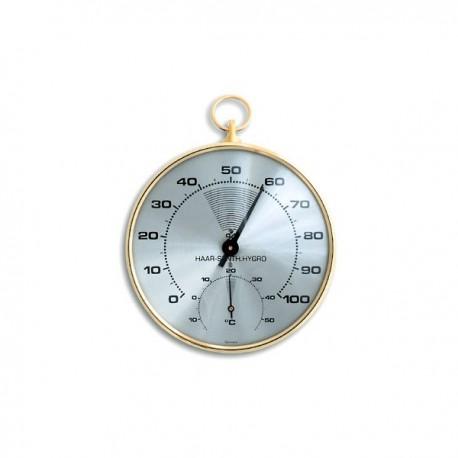 Thermomètre / hygromètre à cheveux