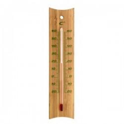 Thermomètre analogique bambou