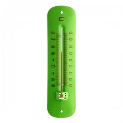 Thermomètre extérieur métal vert