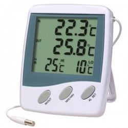 Double thermomètre - alarme - triple affichage