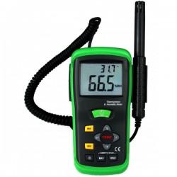 Double thermomètre/hygromètre sonde déportée